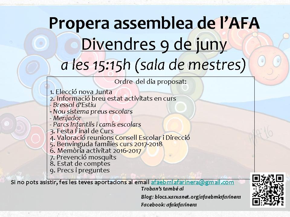 Propera reunio de lAFA-9-juny