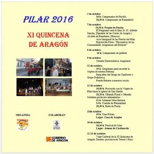 Programa Pilar 2016