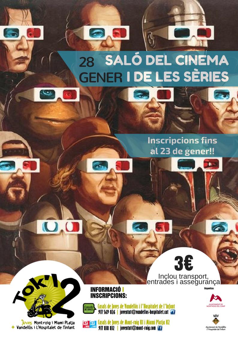 SALÓ DEL CINEMAI DE LES SÈRIES