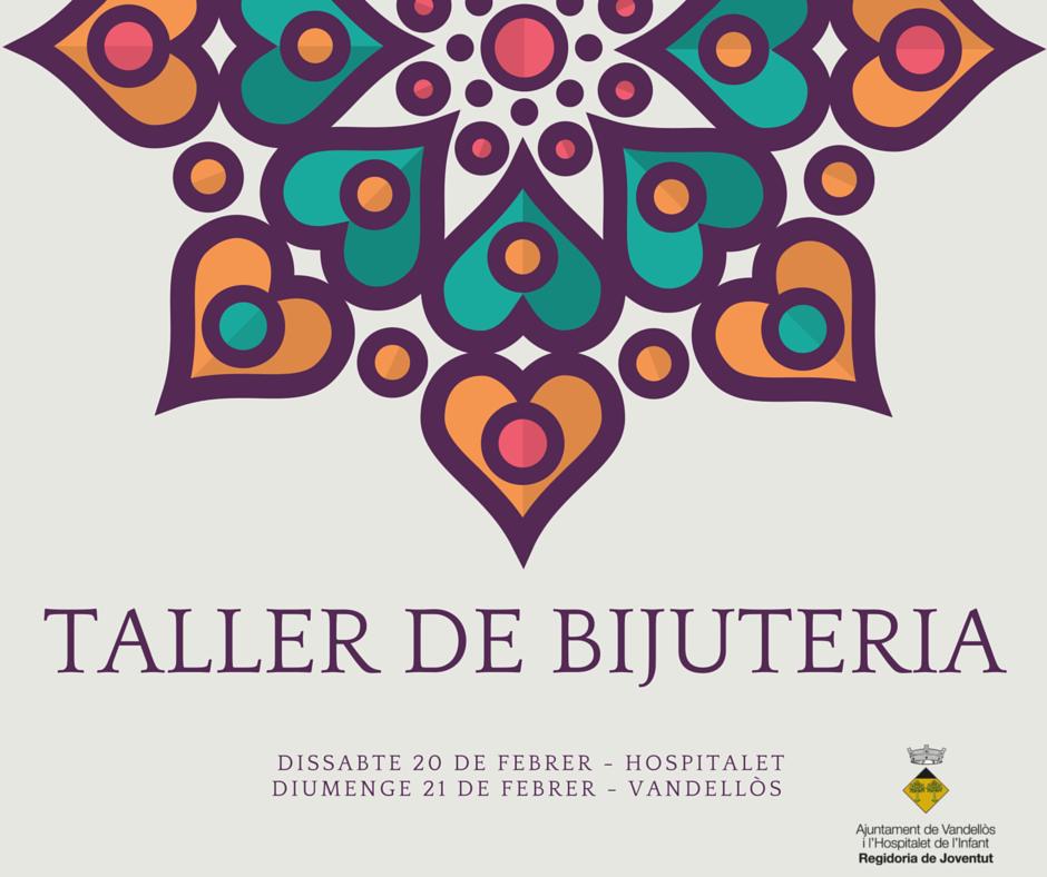 TALLER DE BIJUTERIA