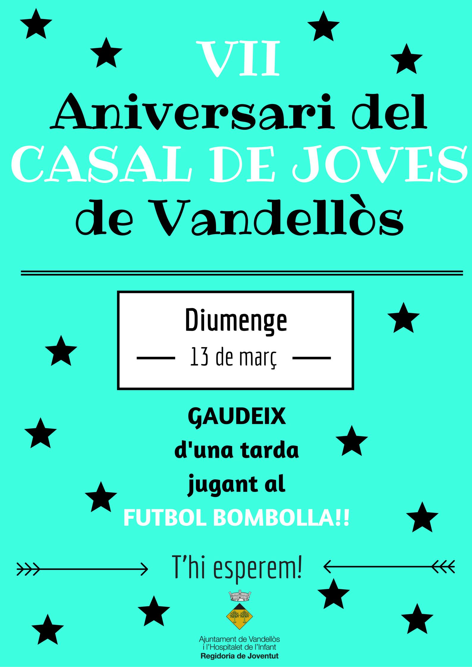 VII Aniversaridel CASAL DE JOVES de Vandellòs (1)