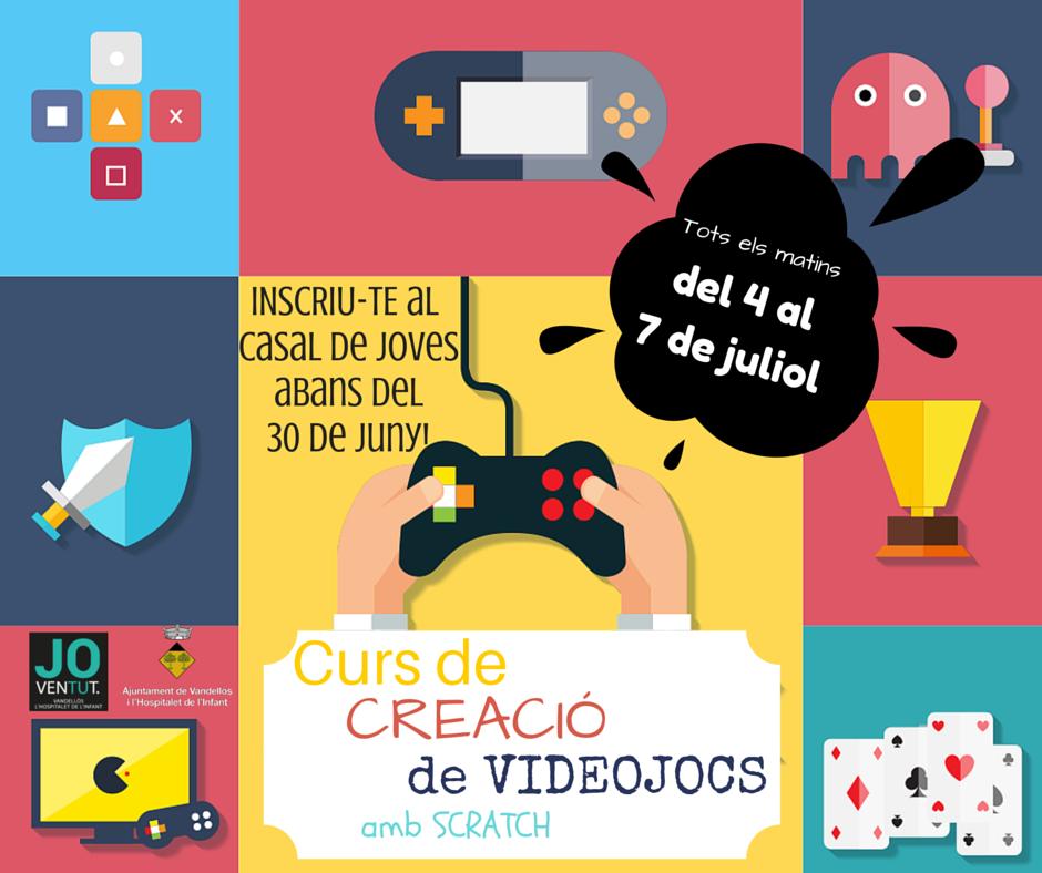 Curs de creació de videojocs