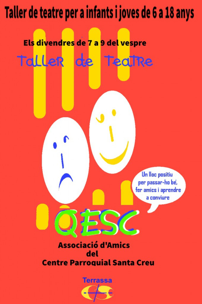 Logo taller de teatre QESC 2