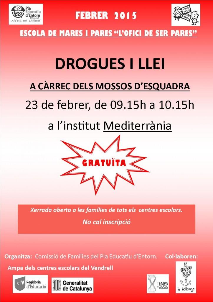 cartell xerrada drogues i llei