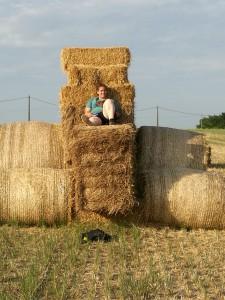 marta al tractor