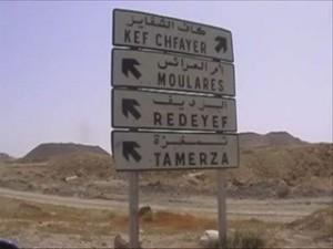 Redeyef i la conca minera de Gafsa