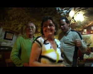 Pilar Ros ballant a Es Cau