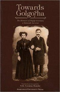 Llibre Towards Golgota sobre la comunitat armènia a Jerusalem