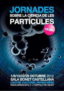 Cartell de les jornades de l'octubre de 2012