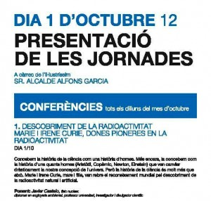 Informacio conferencia