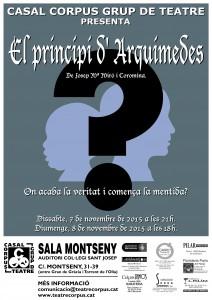 Cartell El principi d'Arquimedes