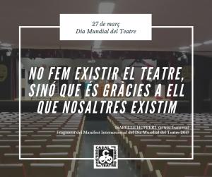 Publicació Dia Mundial del Teatre 2017