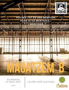 Cartell Magatzem B - Bolo Mataró