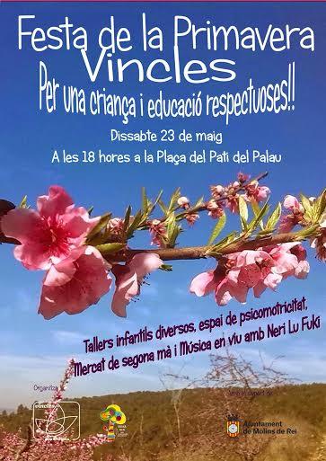 Festa primavera Vincles. Per una criança i educació respectuoses!!